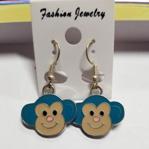 Vintage Monkey Earrings